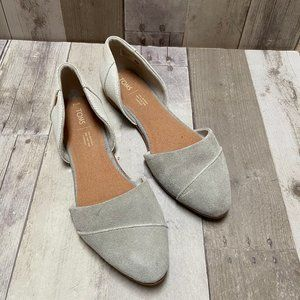 TOMS Jutti D'Orsay Flats Size 10